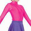 Childrens Lycra Turtleneck Long Sleeved Leotard