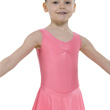 Childrens Lycra Skirted Leotard Ruched ISTD/NATD