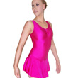 Lycra Skirted Leotard with Ruched Front