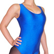 Lycra Sleeveless Plain Fronted Leotard