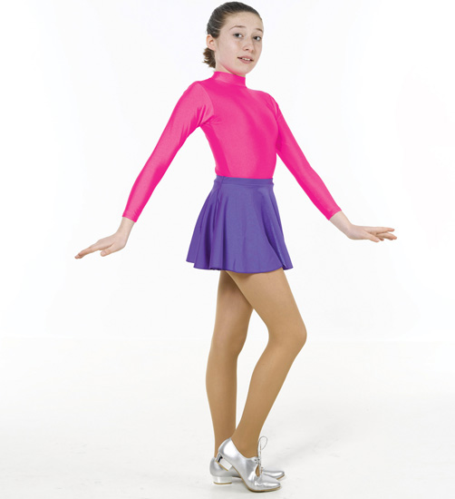 c22fb3249ec71 Childrens Lycra Turtleneck Long Sleeved Leotard - Long sleeved ...
