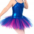 Liquid Foil Classic Royal Blue Tutu - 4 layers of net