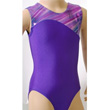 Olympique Lisbon Sleeveless Gymnastic Leotard