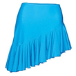 Adults Matt Lycra Slanted Frilled Skirt : CLEARANCE: